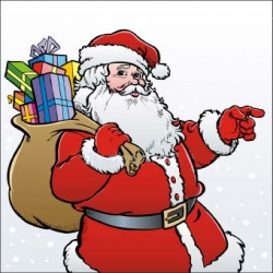 Breakfast with Santa – Sunday, Dec 16th, 7:30am to 11:30am