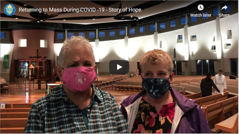 Returning to Mass During COVID-19 – Story of Hope