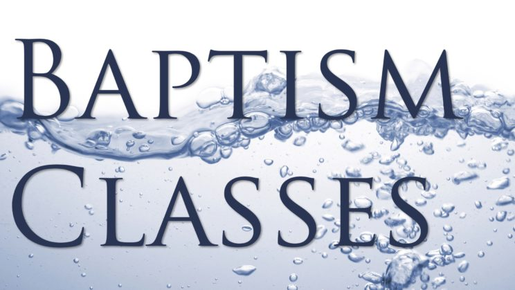 7 pm Baptismal Classes (in-person) - upstairs conference room