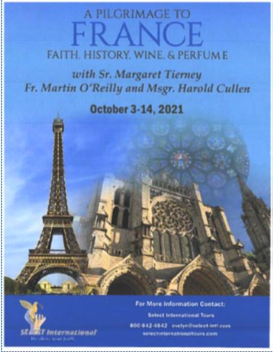 Trip to France: Oct 3 – 14, 2021